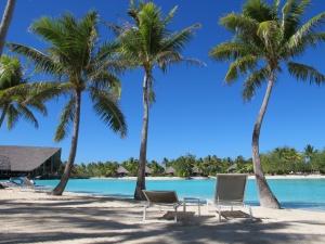 Sombra e agua fresca - Bora Bora