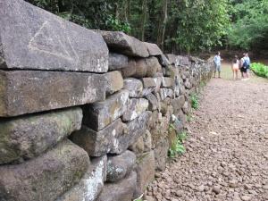 Muros do Templo Polinésio