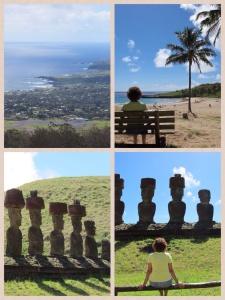Ilha de Páscoa - praias e Moas