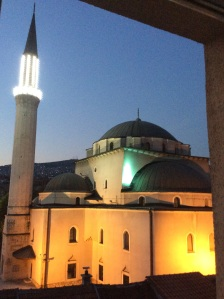 Gazi Husrev Bey, a mais antiga é importante Mesquita da Bósnia