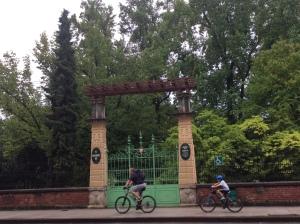 Portão principal do Jardim Botânico