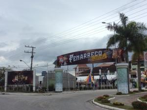 Entrada da Fenarreco - Pavilhão de Eventos