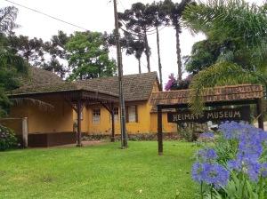 O Museu instalado na mesma Casa Grande da Fazenda que recebeu as primeiras famílias alemãs.